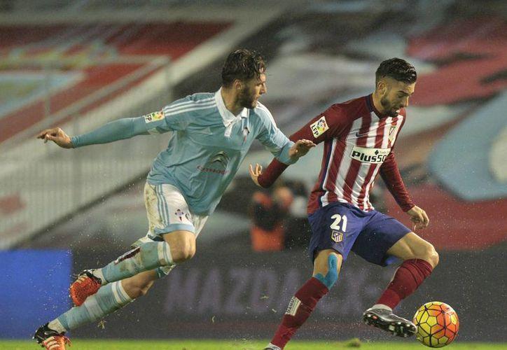 Atlético de Madrid y Celta de Vigo empataron sin cero goles en la ida de los cuartos de final de la Copa del Rey. (Archivo AP)