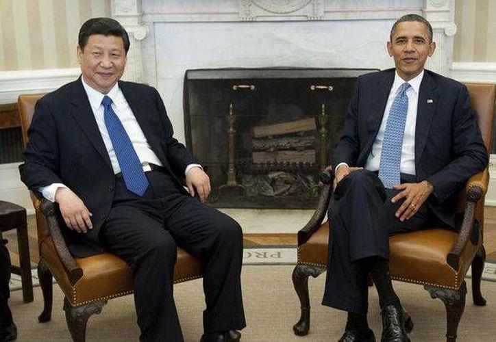 Xi Jinping, y su colega Barack Obama se reunirán en el estado de California. (Agencias)