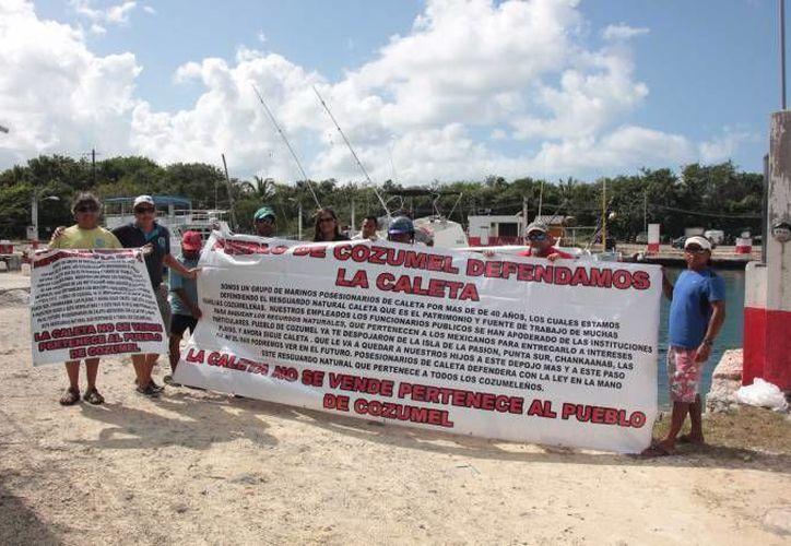 Las autoridades levantaron un censo a los llamados posesionarios. (Gustavo Villegas/SIPSE)