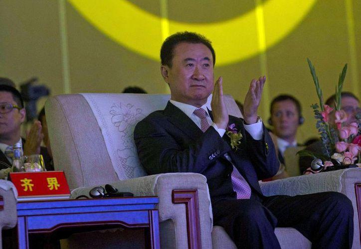 Wang Jianlin es el hombre más rico del país asiático. (Agencias)