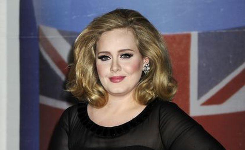 """Recientemente Adele se hizo acreedora a un Globo de Oro por el tema """"Skyfall"""". (Agencias)"""