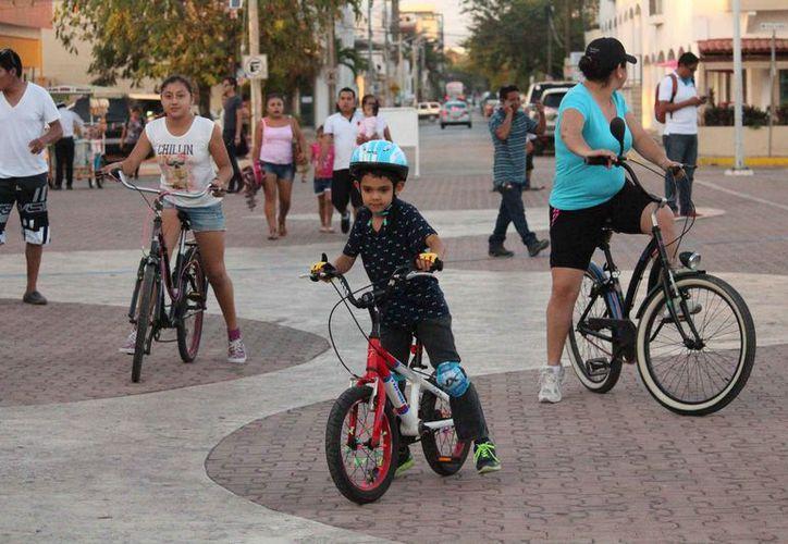 Dan a conocer que se realizará en bicicleta. (Octavio Martínez/SIPSE)