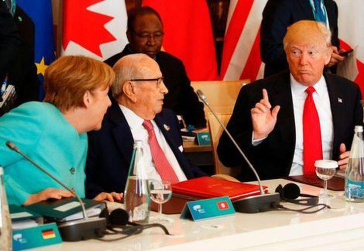 Estados Unidos seguirá participando en negociaciones internacionales sobre el cambio climático a pesar de haber anunciado la decisión de retirarse del Acuerdo de París. (AFP).
