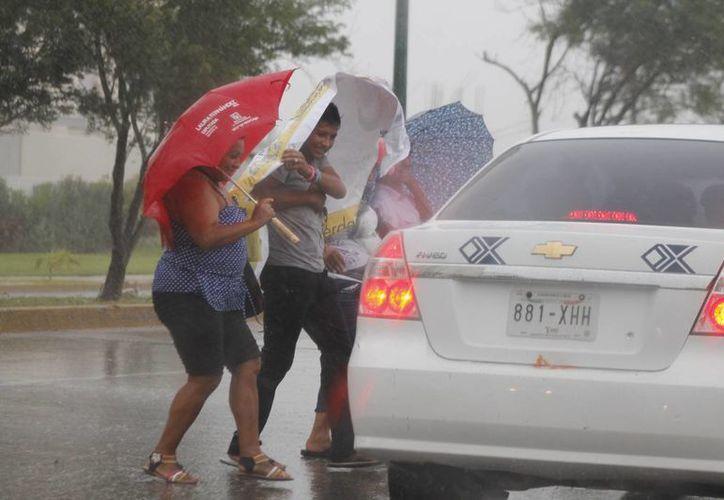 El pasado lunes dos de junio, la entidad se vio afectada por intensas lluvias, a causa de los remanentes de la tormenta tropical Boris. (Sergio Orozco/SIPSE)
