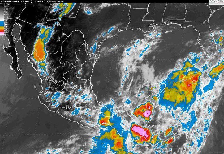 Las autoridades anunciaron la presencia de lluvias muy fuertes en la zona del Istmo de Tehuantepec y la Cuenca del Papaloapan. (conagua.gob.mx)