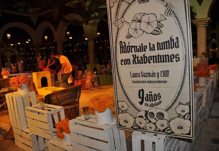 En el interior del parque Xcaret se presentarán altares de muertos típicos de la región y del Estado invitado de este año. (Redacción/SIPSE)