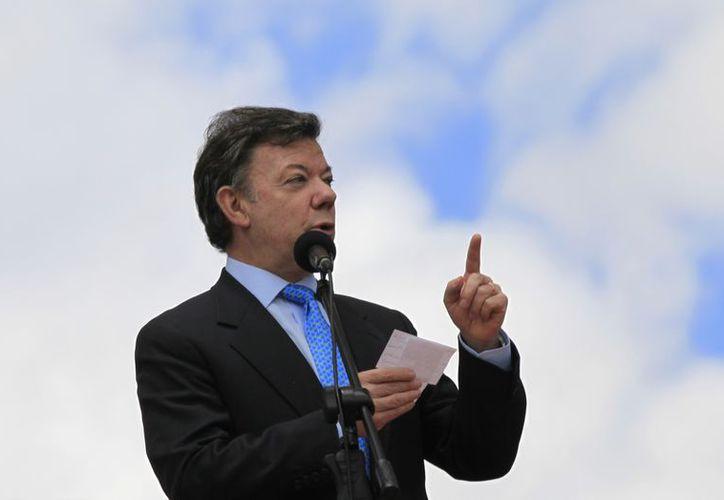 El mandatario colombiano se encontraría con el presidente de Nicaragua en la toma de protesta de Peña Nieto. (Archivo/Agencias)
