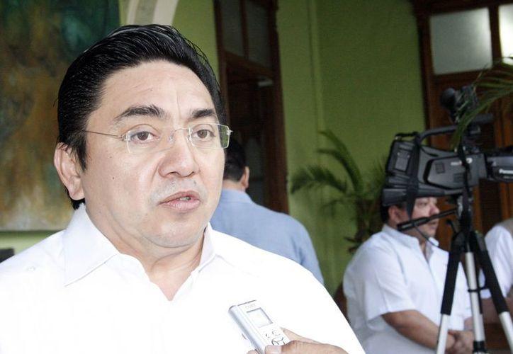 Marcos Celis Quintal, presidente del TSJ de Yucatán, se suma a las medidas de austeridad. (Theani Ruz/SIPSE)