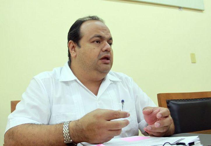 Diego Barbosa Lara, presidente del Tribunal Electoral, declaró que el año pasado hubo 80 impugnaciones en la elección de comisarios municipales. (SIPSE)