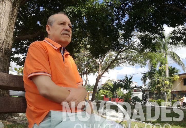 """""""El delito federal más grave de la época era la expedición de cheques sin fondo, algo que proliferó mucho en Cancún"""". (Ivett Ycos/SIPSE)"""