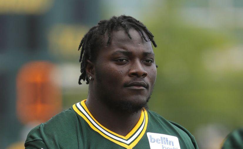 Montravius Adams, de los Packers de Green Bay. (AP Foto/Morry Gash, archivo)