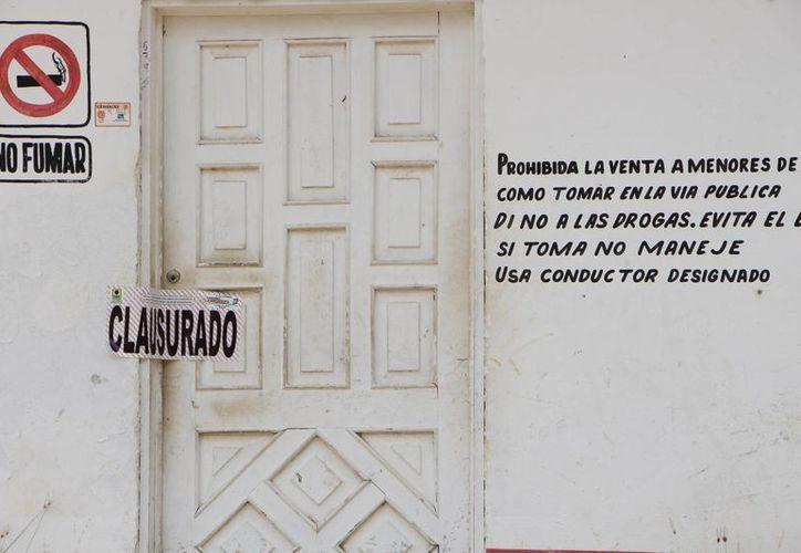 Los propietarios de cada local pagarán las multas correspondientes. (Raúl Balam/SIPSE)