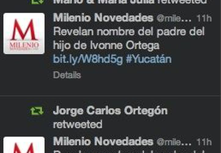 Algunos de los 'tuits' compartidos con motivo del Día de los Santos Inocentes.