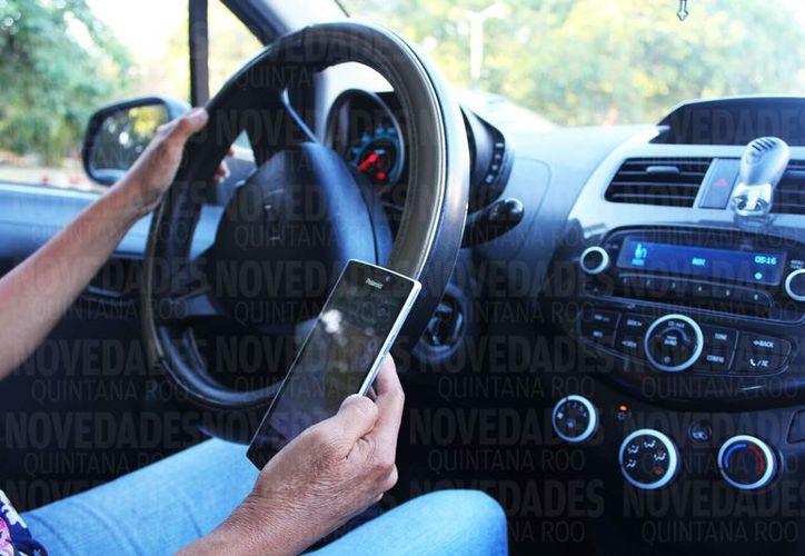 Los choferes de Uber no ven condiciones de seguridad para los usuarios. (Ivette Ycos/SIPSE)