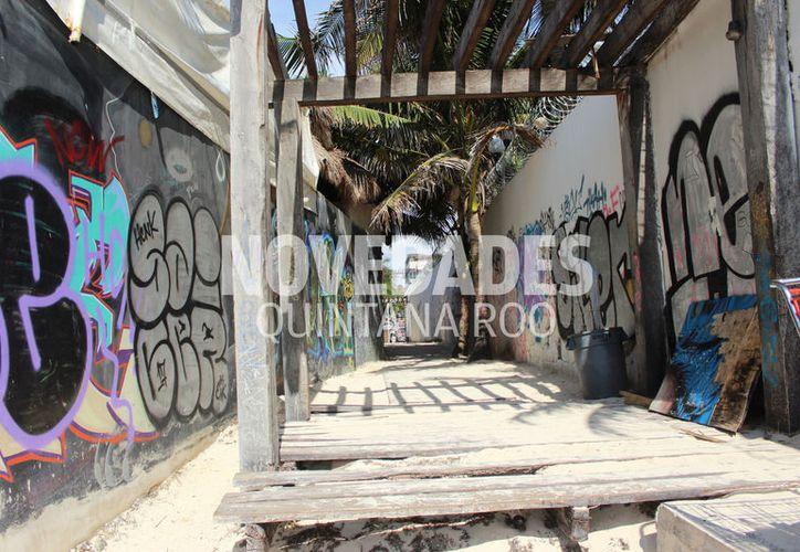 Trabajos en predio donde estaba Blue Parrot inician sin aprobación de Desarrollo Urbano. (Octavio Martínez/SIPSE)