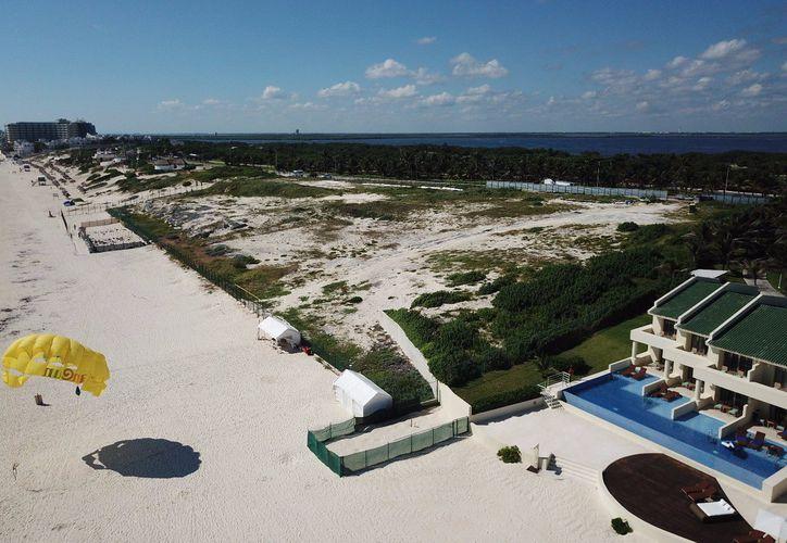 El amparo destaca el daño que la construcción del hotel ocasiona en el medio ambiente. (Archivo/ SIPSE)