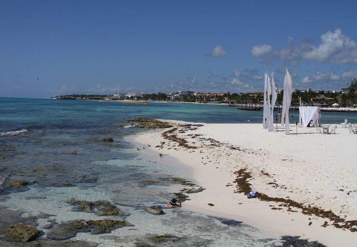 Se espera que la recuperación de arenales inicie con el rescate de las dunas costeras. (María Mauricio/SIPSE)
