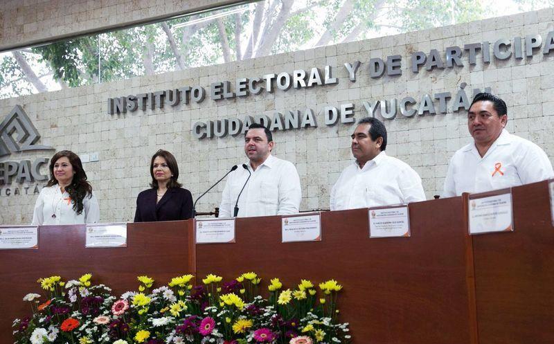 El Artículo 79 de la Ley de partidos políticos del Estado, establece que las candidaturas comunes (de dos o más partidos) puedan postular candidatos. (SIPSE)