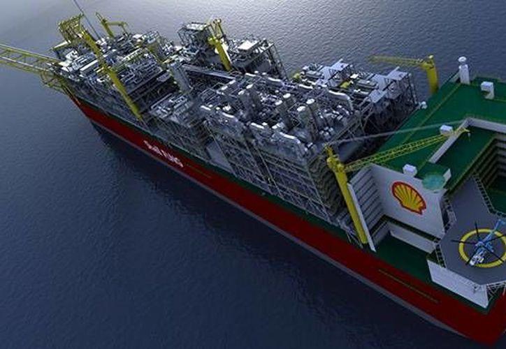 Especialistas estiman que el costo del Prelude puede ser de hasta 12,600 mdd. (shell.com.au)