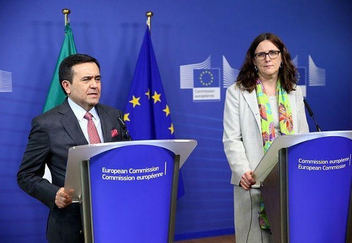 Las reuniones ante negociadores dio inicio en junio del 2016. (Foto: Televisa News)