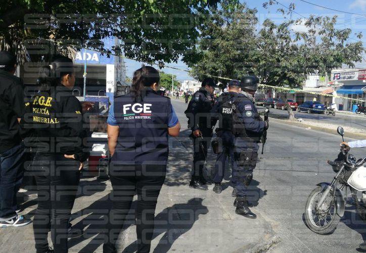 Los hechos ocurrieron en la Ruta 5, cerca de la avenida Kabah. (Orville Peralta/ SIPSE)