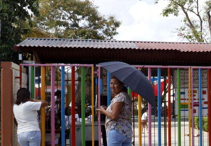 """jardín de Niños """"Un mundo feliz"""". (Foto: José Acosta/ Milenio Novedades)"""