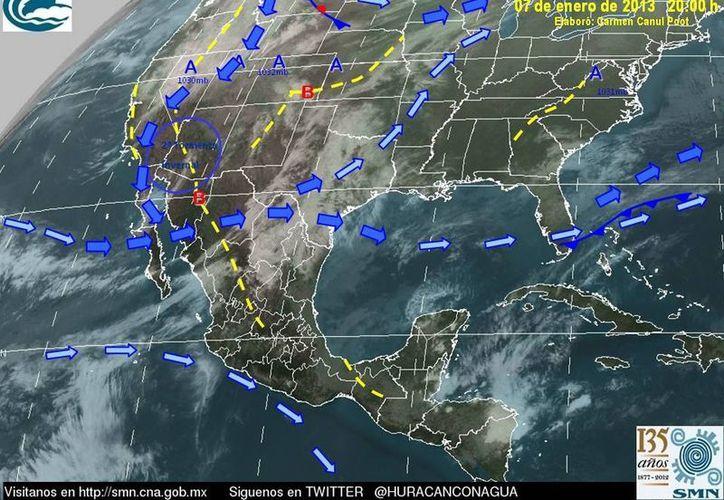 Soplarán vientos del este y sureste de 30 a 50 km/h. (proteccioncivil.qroo.gob.mx)