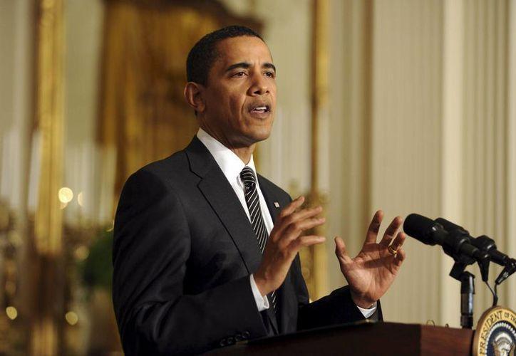 Aseguran que Obama reevalúa su postura sobre la legalización del narcótico. (EFE)