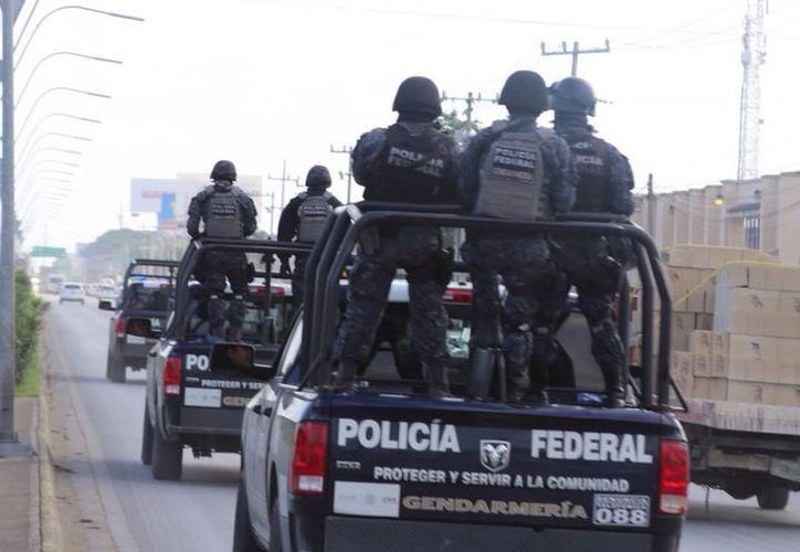 La presencia de la Policía Federal y Militar, es la principal causa de que la seguridad en la zona norte no hay colapsado, considera Ángel Ciudadano. (Redacción/SIPSE)