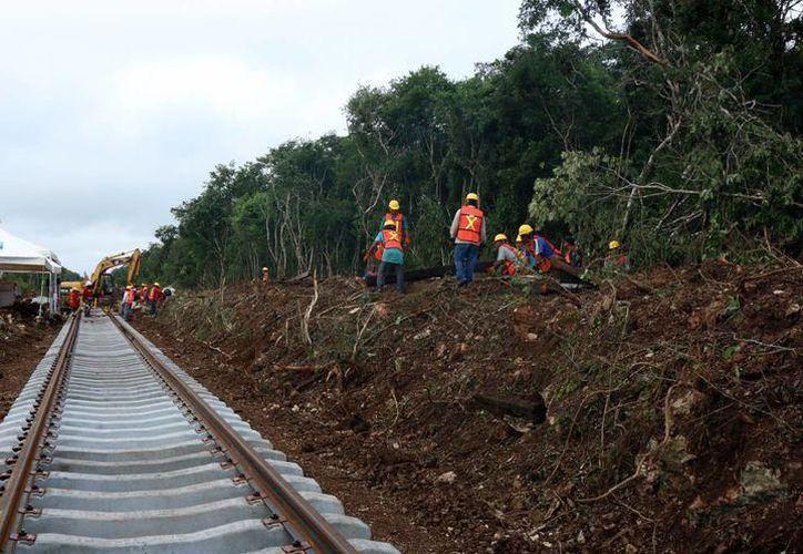 La modernización de las vías en Yucatán, concluirá en el primer trimestre de 2018. (SIPSE)
