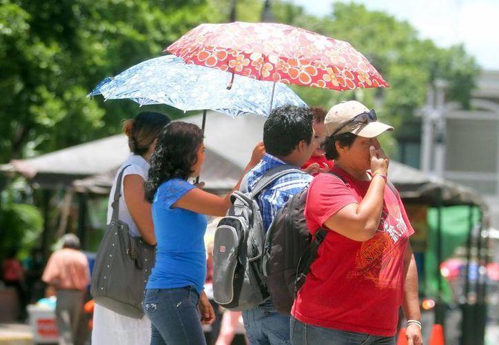 Desde hoy sábado y hasta el próximo lunes se esperan temperaturas muy calurosas para Yucatán (Archivo/ Milenio Novedades)