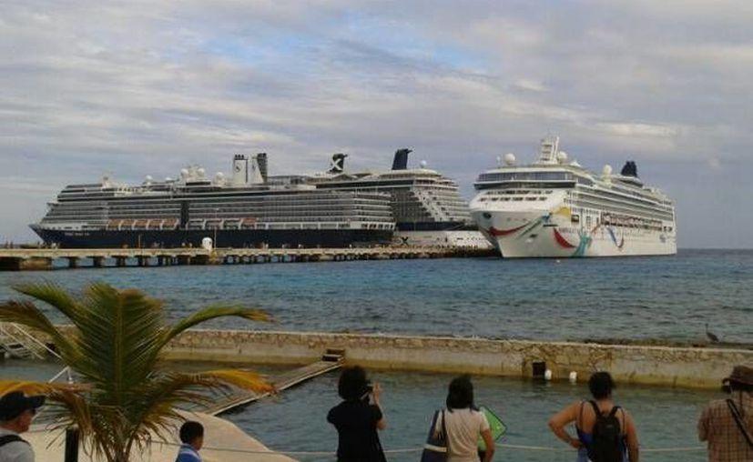 Quintana Roo fue ratificado en el primer sitio a nivel continental como el principal destino de cruceros. (Archivo/SIPSE)