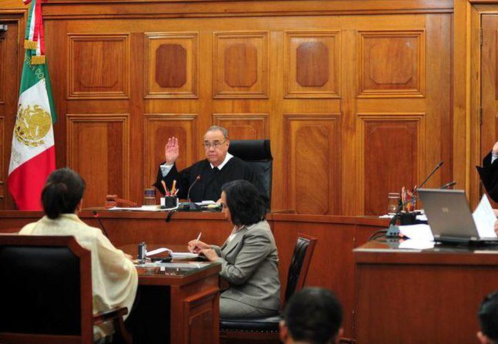 Los ministros señalaron que las pruebas contra los imputados son ilícitas. (Notimex)