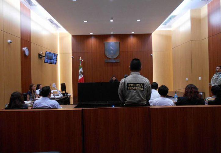 Audiencia anterior del caso del asesinato del músico Luis Luna Guarneros. (Milenio Novedades)