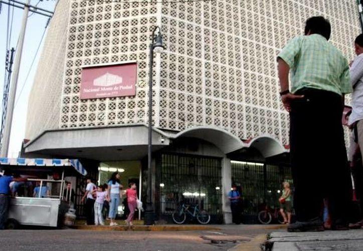 El Nacional Monte de Piedad es una de las instituciones pioneras en la asistencia privada en México: nació en 1775. (Archivo SIPSE)