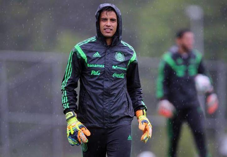 Alfredo Talavera se ha perfilado como uno de los porteros preferidos por el seleccionador nacional, Juan Carlos Osorio. (Archivo Notimex)