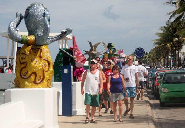 Mantendrán impecable el área durante las actividades del carnaval. (Cortesía/SIPSE)