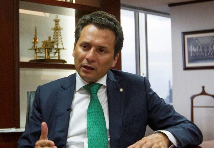 El titular de Pemex, Emilio Lozoya, la empresa ha cumplido con algunos aspectos de la reforma energética, mientras que otros están en proceso de implementación. (Archivo/Notimex)