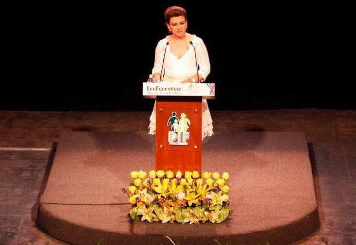 Los yucatecos son la parte más importante del tejido social: Sarita Blancarte de Zapata. (Milenio Novedades)