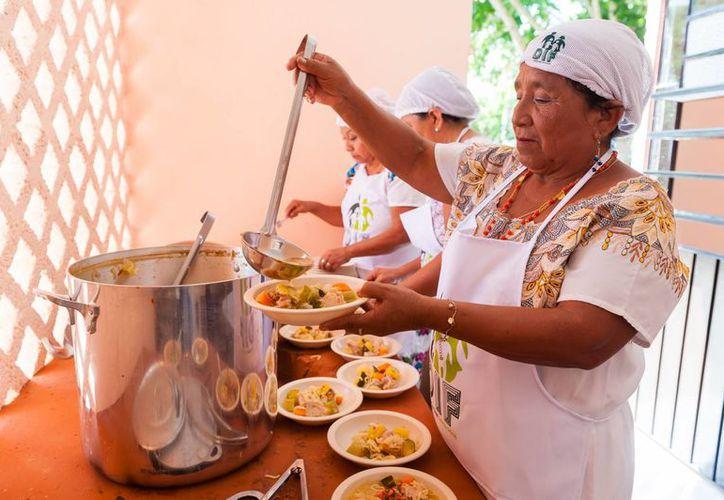 Más de 146 personas podrán acceder a un platillo balanceado en las renovadas instalaciones del comedor del DIF en Huhí. (Foto cortesía)