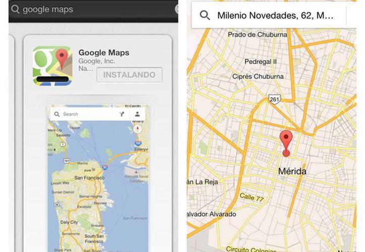 La herramienta de navegación de Google ha vuelto al iPhone. (SIPSE)