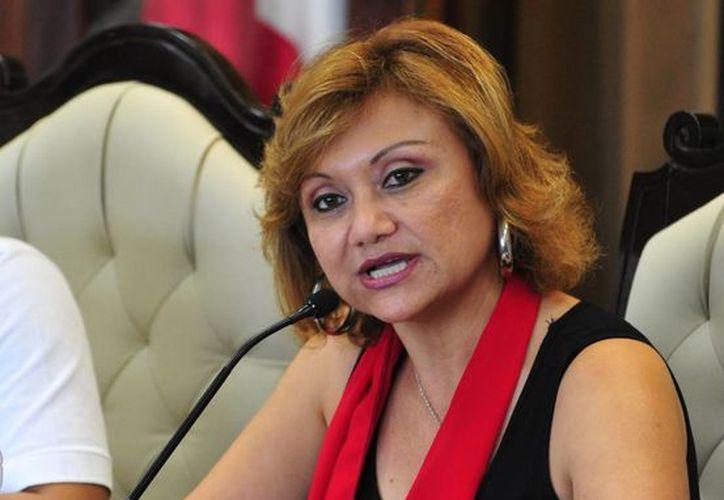 La diputada Alondra Herrera Pavón, presidenta de la Comisión de Planeación y Desarrollo Económico. (Redacción/SIPSE)