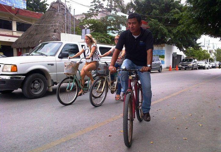 Han solicitado el apoyo de Desarrollo Urbano para realizar la ciclopista. (Daniel Pacheco/SIPSE)