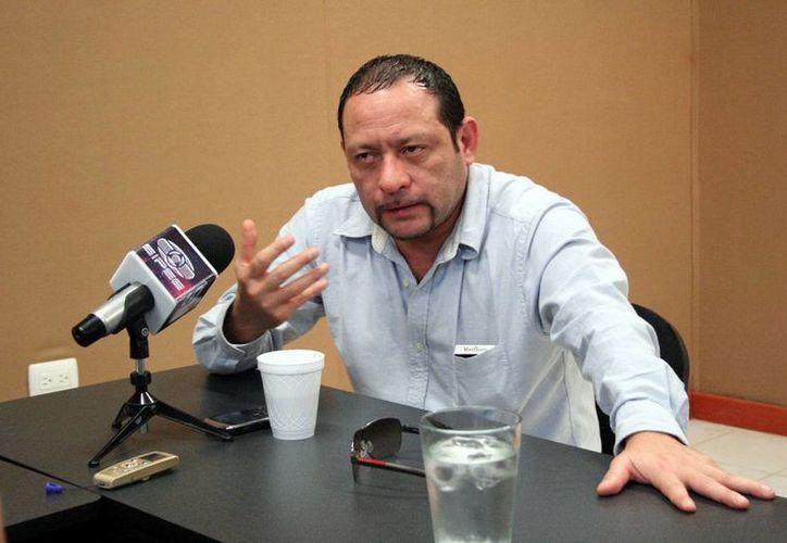 René Verde Pinzón dijo que el examen de antidoping será como el que le realizan a los policías. (Milenio Novedades)