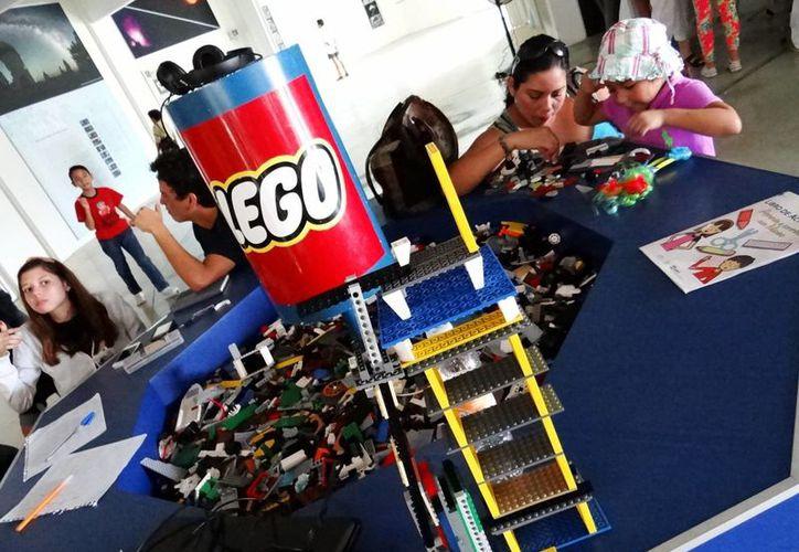 Permiten desarrollar la creatividad de los infantes por medio del juego y el aprendizaje. (Sergio Orozco/SIPSE)