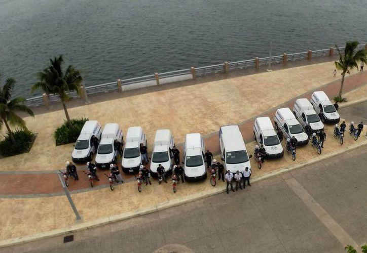 Con la nueva imagen que adquirió el diario se logró consolidar la compra de más vehículos. (Israel Leal/SIPSE)