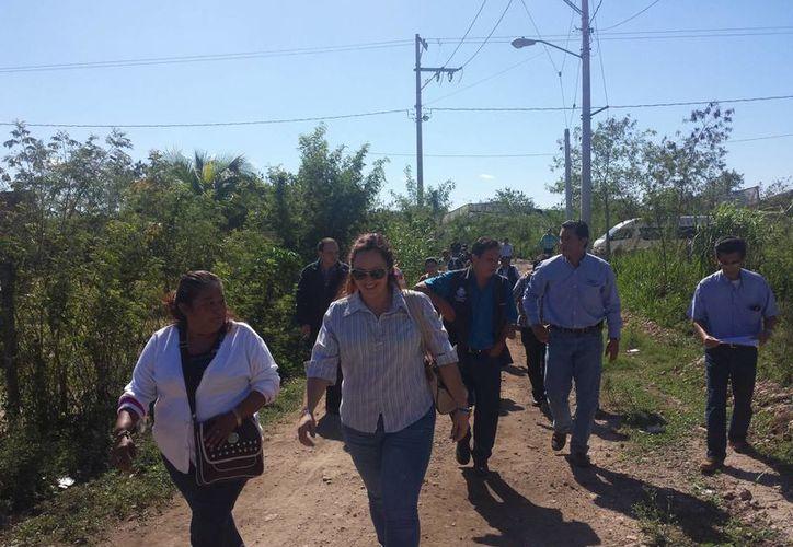 El comité de priorización de obras del ramo 33 realizó este jueves un recorrido por las zonas que se atenderán, es decir, colonias marginadas de Mérida y comisarías. (SIPSE)