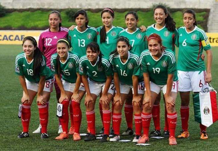 El Seleccionado Femenil Sub 17 ya está en el Mundial Costa Rica 2014. (mediotiempo.com)