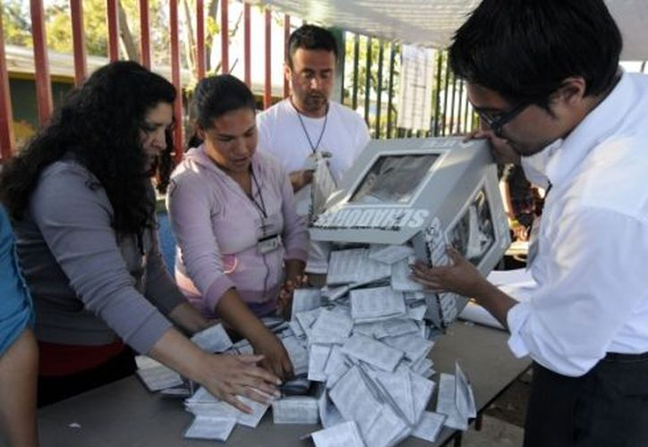 El proceso desde la apertura del material electoral hasta su destrucción abarcará del 12 al 26 de noviembre. (Archivo Notimex)