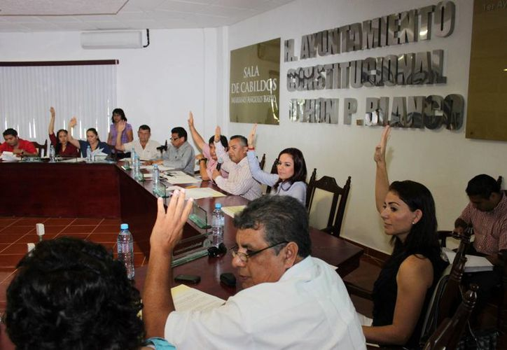Los 17 integrantes del honorable Cabildo someterán a revisión la cuenta pública. (Redacción/SIPSE)